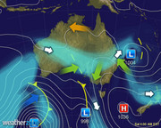 Synoptic Chart Australia - D0