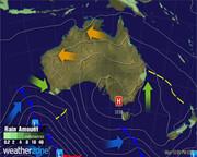 Synoptic Chart Australia - D3