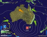 Synoptic Chart Australia - D4