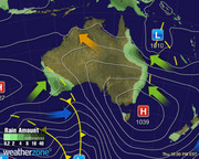 Synoptic Chart Australia - D6