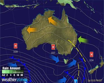 Synoptic Chart Australia - D2
